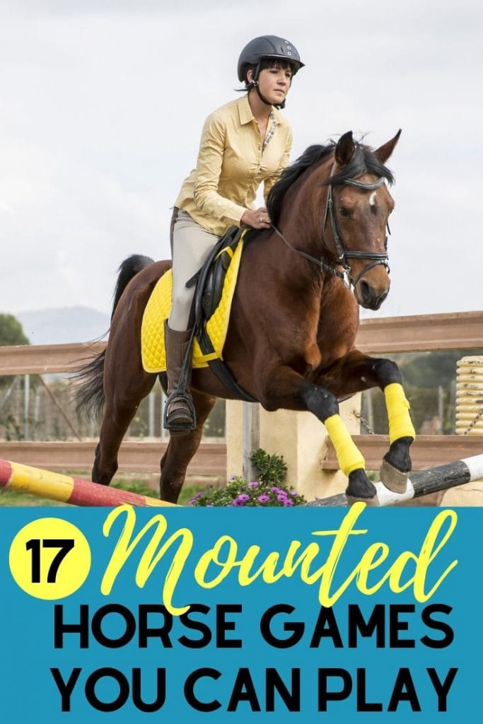 Here are 17 entertaining mounted horse games that will keep students occupied during lessons, horse camp, or just a rainy day in the indoor!