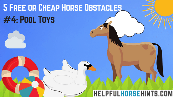 Horse Obstacle - Pool Toys