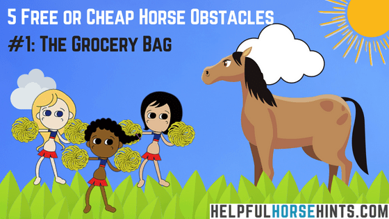 Horse Obstacles - Plastic Bags