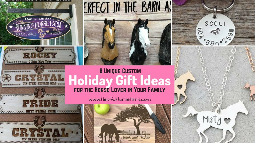 8 unique horse gift ideas