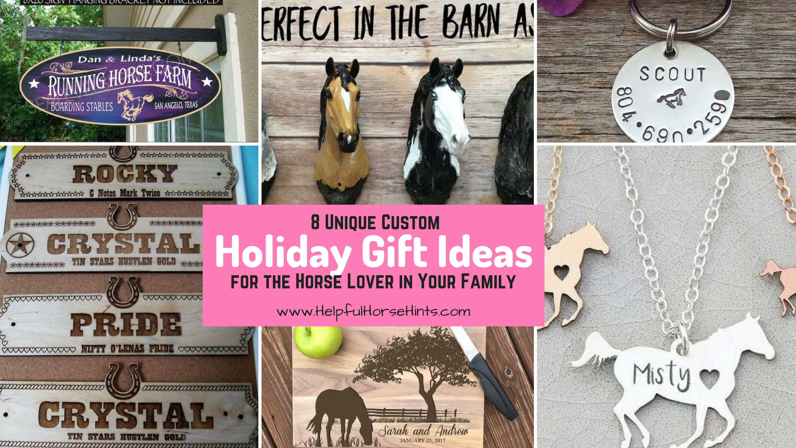 8 unique horse gift ideas