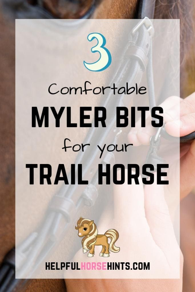 myler bits comfortable for trail horses