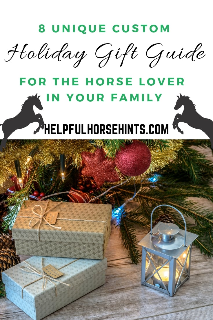 Holiday gift ideas FOR THE HORSE LOVER IN YOUR FAMILY