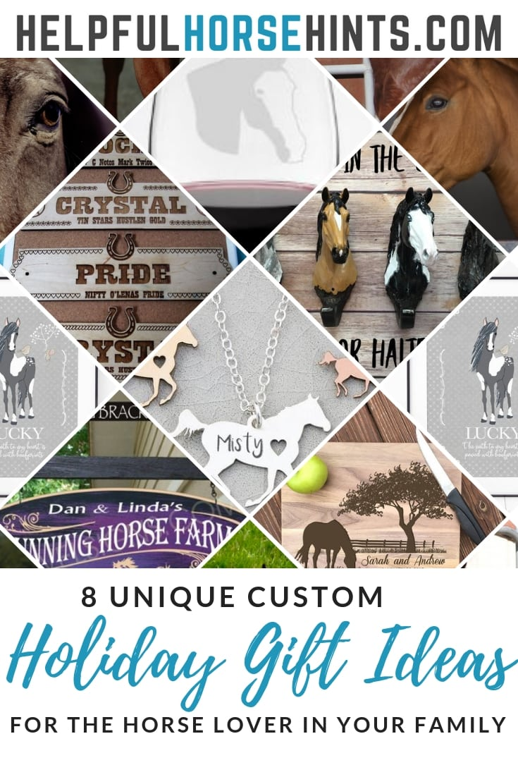 Holiday Gift Ideas for Horse Lovers  sc 1 st  Helpful Horse Hints & 8 Unique Custom Holiday Gift Ideas for the Horse Lover in Your ...