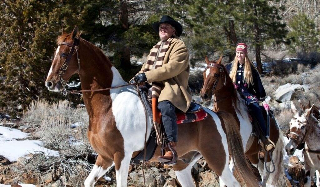 Riding American Saddlebred