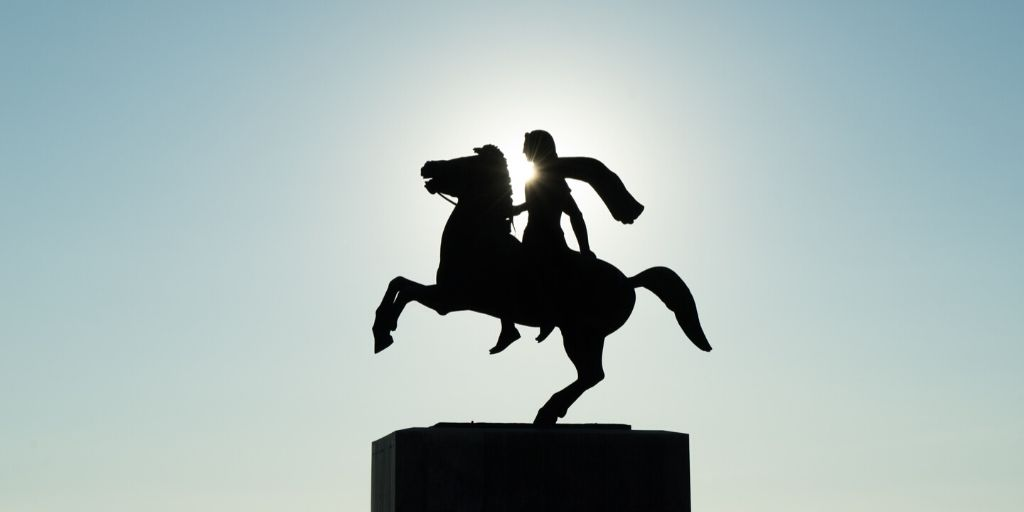 alexander the great horse statue