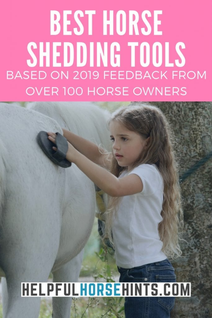 Best Horse Shedding Tools - Based on 2019 Feedback from over 100 horseowners