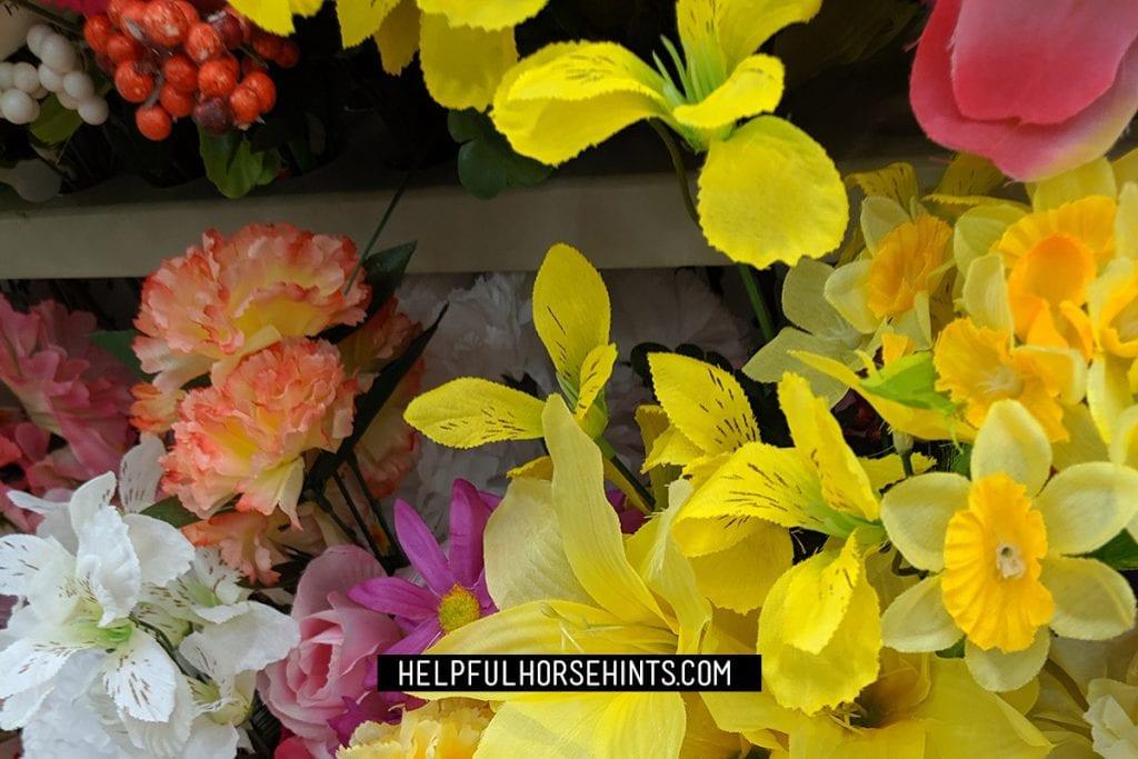 dollar store flowers