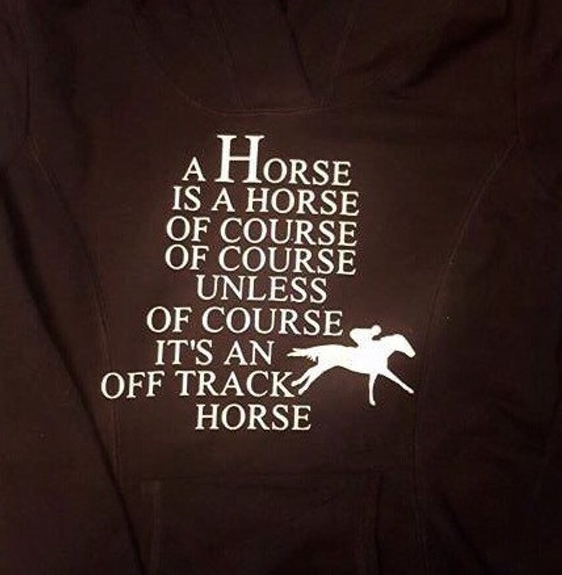horse of course
