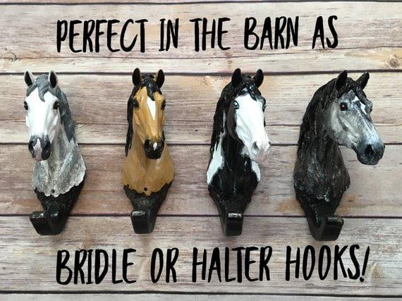 Horse Halter Hooks