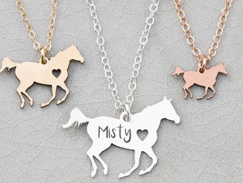 Horse Necklace Gift Idea