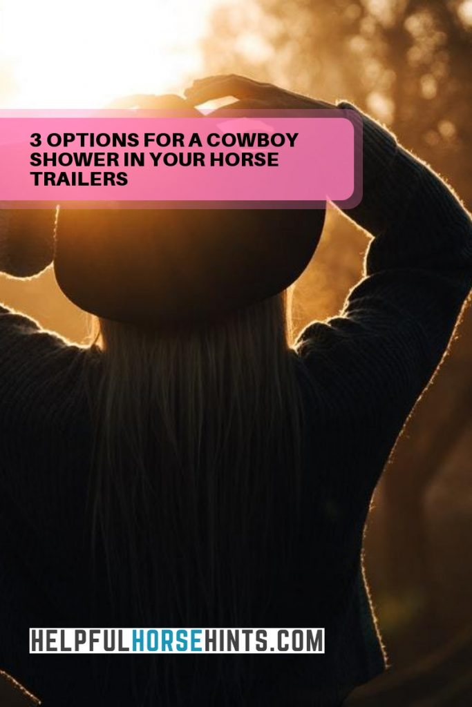 options for cowboy shower