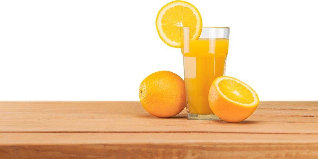 oranges and orange juice for horse treats